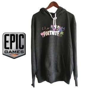 Fortnite Group Gamer Hoodie Size Large Unisex
